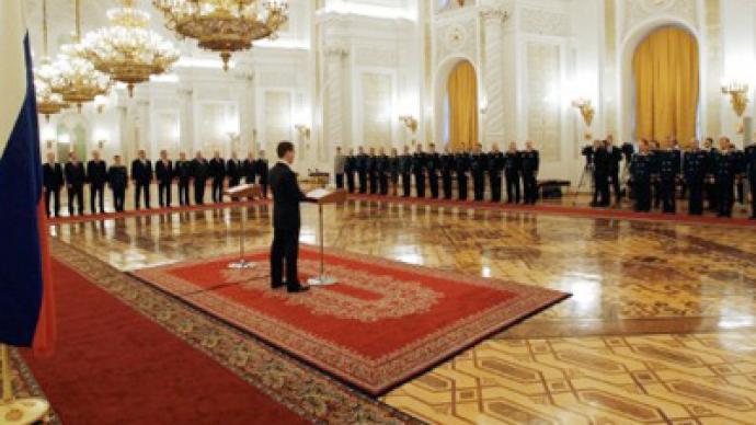 Medvedev demands action on address proposals