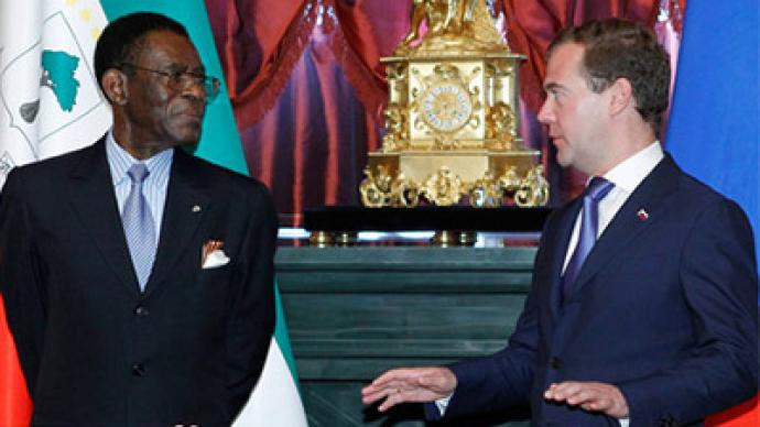 Medvedev discusses Libya with African Union chairman