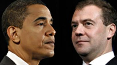 Medvedev sends July 4 congrats to Obama