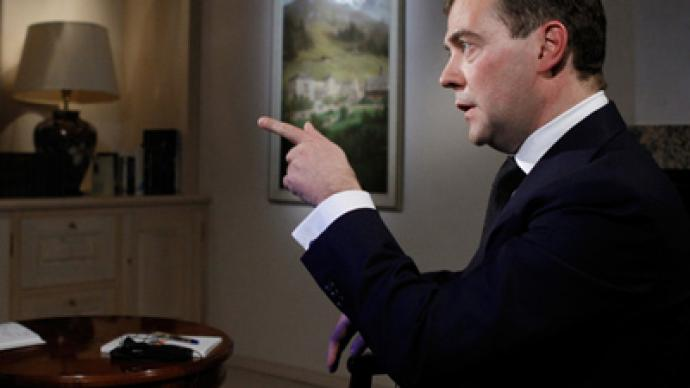 Follow laws or go to jail – Medvedev