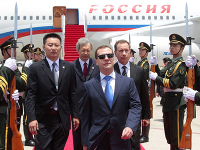 China calls for boosting strategic partnership with Russia