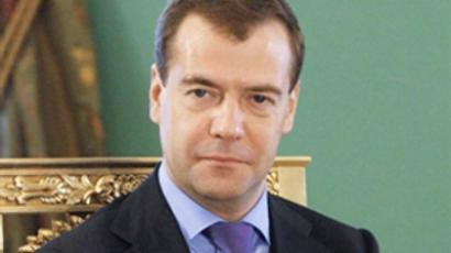 Medvedev calls for swifter dismantling of state corps