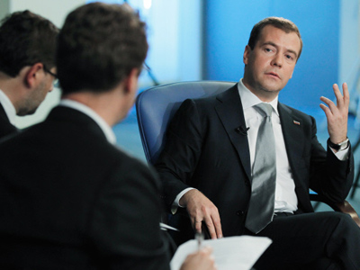 Medvedev excludes election contest with Putin