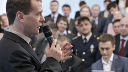 'Large govt' doesn't mean more bureaucrats – Medvedev