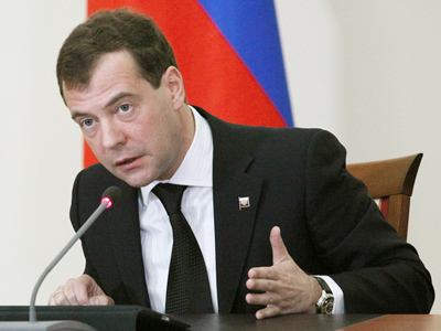 Medvedev makes unannounced visit to terror-stricken Caucasus