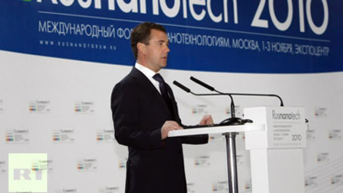 Medvedev says no nano-future without better laws