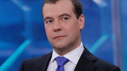 Medvedev's interview entrapped in the Net