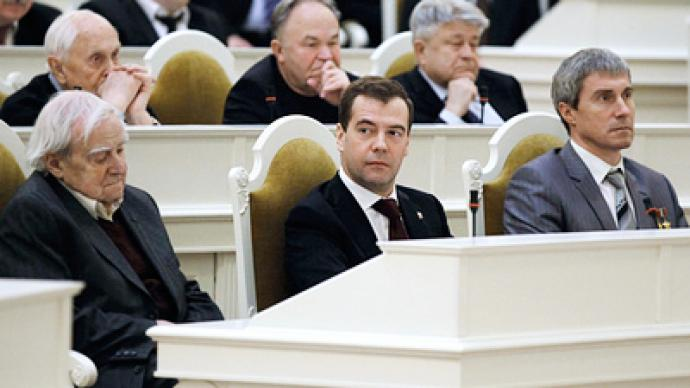 Tightening screws can't keep a nation together - Medvedev