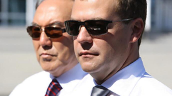 Medvedev predicts brilliant future for Russia-Kazakhstan relations