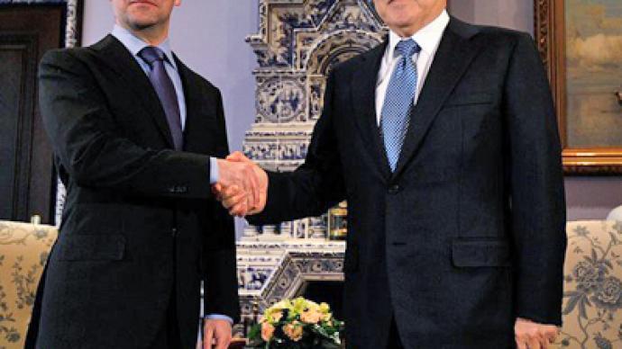Medvedev wishes Nazarbayev luck at presidential election