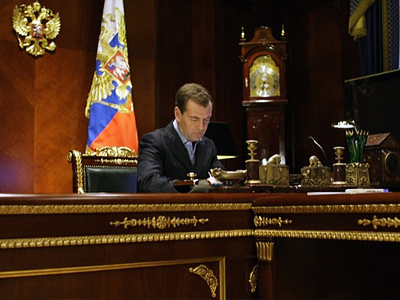 People's consent is crucial to Medvedev