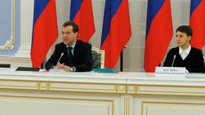 Medvedev concerned over Russian invention drainage