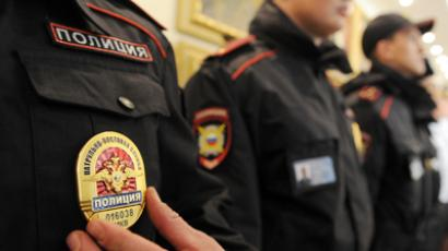 Russian SWAT moves in as sacked top-cop holes up in office