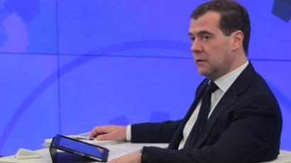 Medvedev: Freedom is better than non-freedom