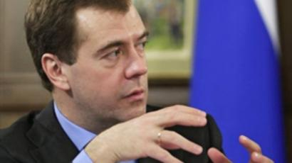 Medvedev demands tougher punishment for mafia