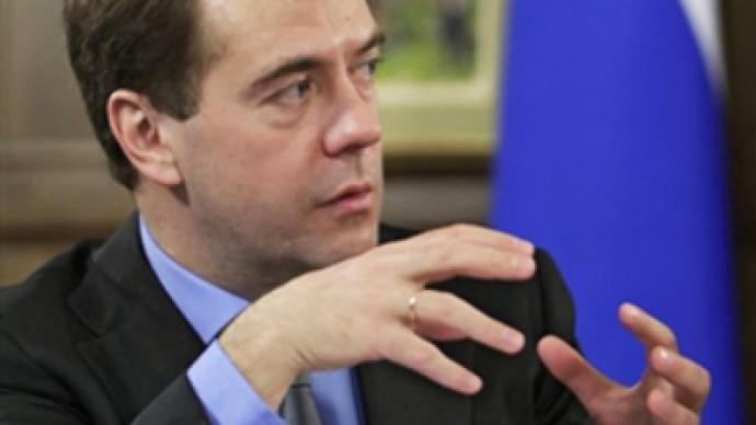 Medvedev proposes bail, not jail, for economic crimes