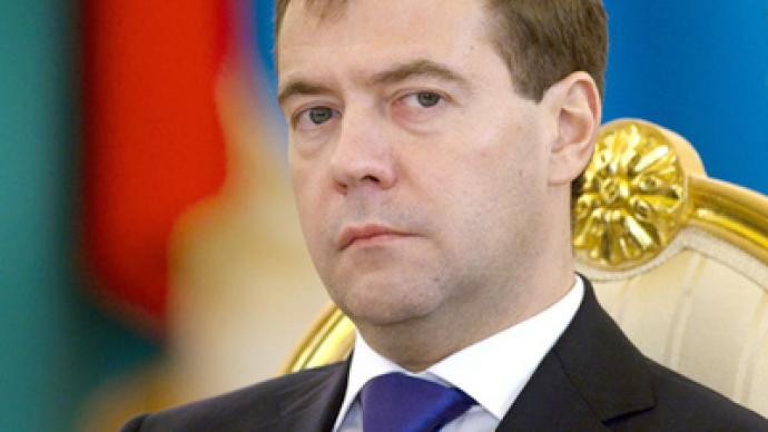 Medvedev signs Police Law