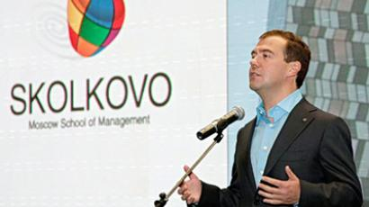 "Medvedev devoted to stopping money ""running away"" from economy"