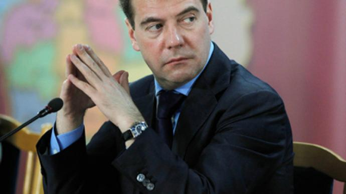Medvedev: time for reality – security services have to join forces for war on terror
