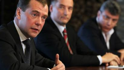 Medvedev wants election law for governors adopted in April