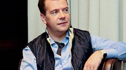 "Medvedev says ""no threat"" from Khodorkovsky's release"