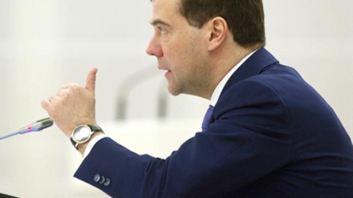 """Medvedev wants """"irreconcilable"""" militants eliminated"""