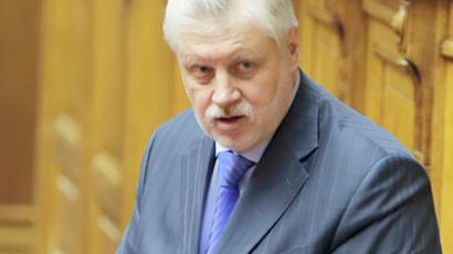 "Upper house ex-speaker vows to purge Fair Russia party of ""traitors"""