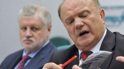 Mironov opposed to Medvedev as PM