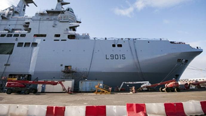 Mistral-class ships to protect Kuril Islands