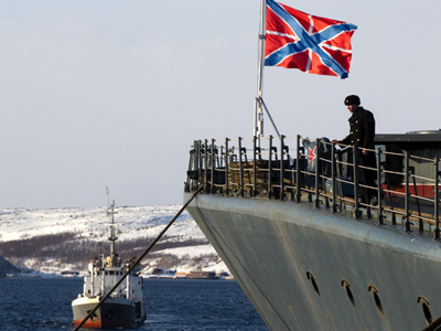 Russian Navy chief concerned about growing tensions in the Arctic