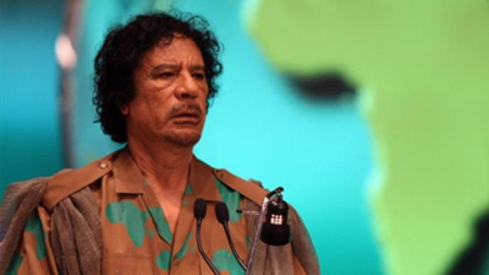 Russia says Gaddafi must go, offers mediation