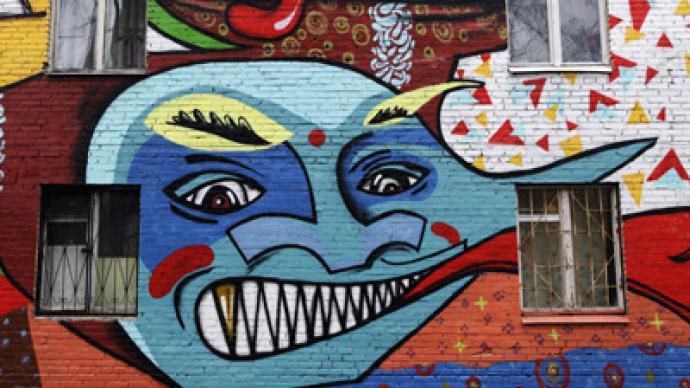 Muslims outraged at xenophobic graffiti