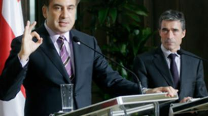 "Georgian aspirations for NATO ""almost dead"" – Saakashvili"