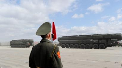"Russia unveils plans for ""invincible"" ICBM"
