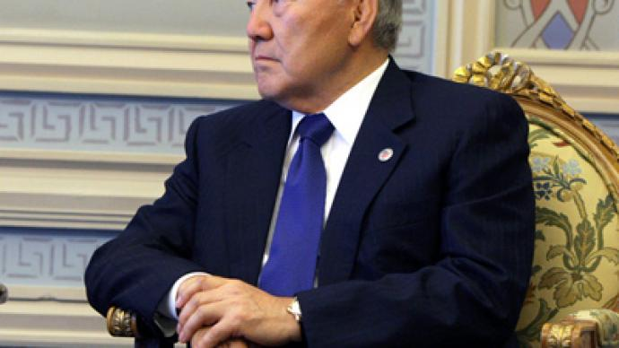"Nazarbayev ready to continue as president ""as long as allowed"""