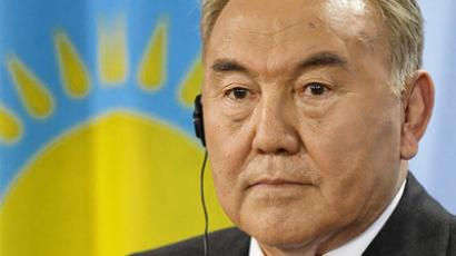 "Beating Kazakh president in vote is ""utopian"" – contender"