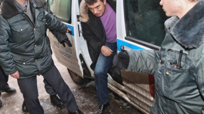 Public verdict: Nemtsov did not swear at police