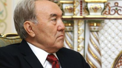 Kazakhstan's long-serving leader stays in power