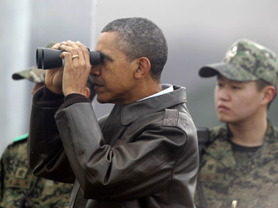 N. Korea propaganda footage shows Obama, US troops on fire