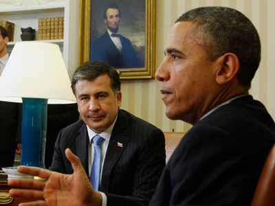 Obama, Saakashvili and a telling slip of the tongue