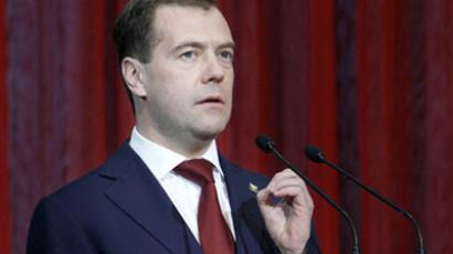 Putin says neither he nor Medvedev have ruled out running for presidency in 2012