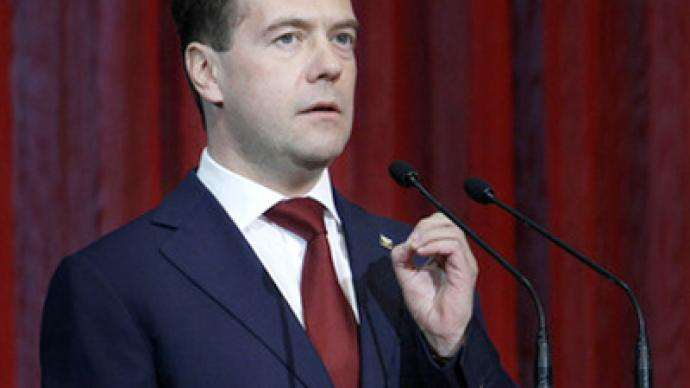 Medvedev reiterates possibility of running for presidency