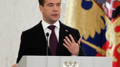 Medvedev demands action on address proposals
