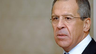 Through thorns to cooperation: Lavrov visits London