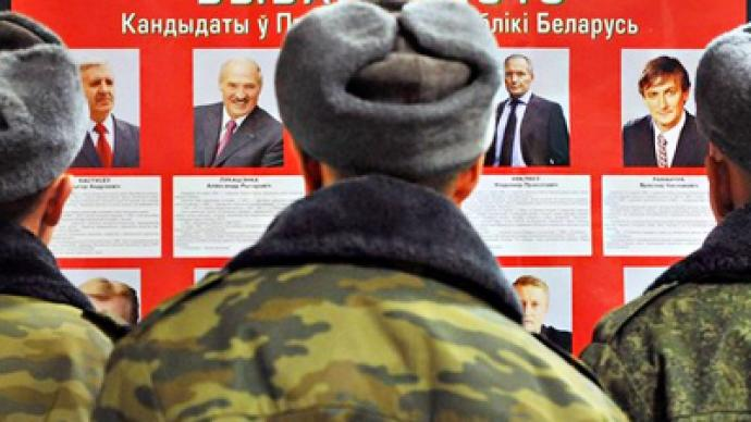 Opposition cries foul as Belarus starts early voting