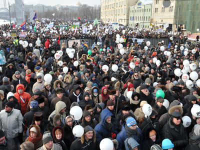Opposition protests Medvedev's project of independent Public TV