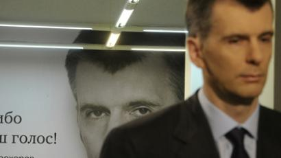 Mikhail Prokhorov pledges drastic election reforms