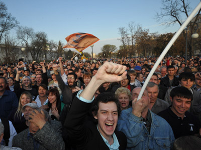 Fair Russia: Protest clamp-down will cause mass riots