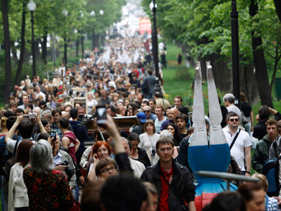Tens of thousands in 'March of millions' Moscow protest (PHOTOS, VIDEO)