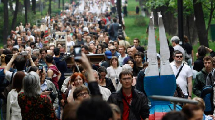 Opposition gets license for Russia Day rally
